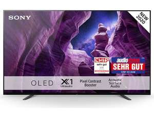 """TV OLED 55"""" Sony KE-55A8 - 4K UHD, 100 Hz, HDR10, Dolby Vision (Frontaliers Suisse)"""