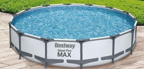 Piscine Bestway steel pro max - 4.27m x 84cm (filtre inclus)