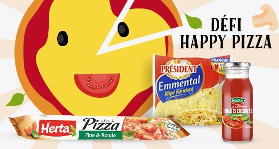 Défi Happy Pizza : 5 demandes de remboursement acceptées = 3 produits offerts