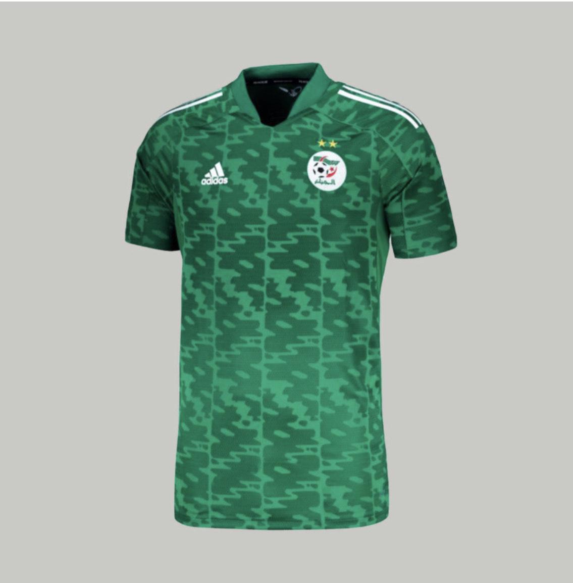 Maillot de football de l'équipe nationale d'Algérie Extérieur 2021 (dzfanstore.com)