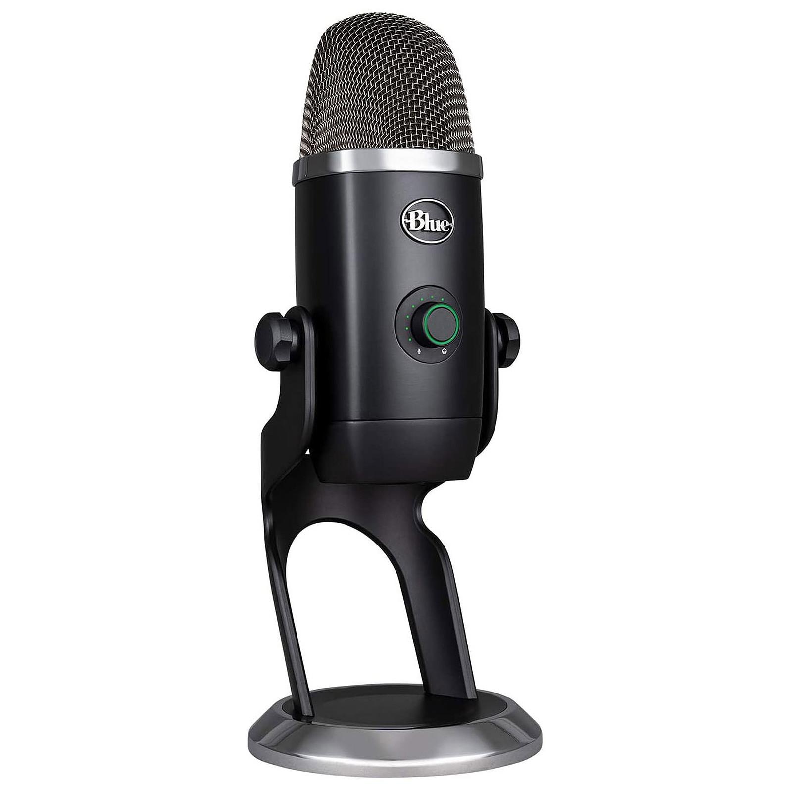 Microphone USB Blue Yeti X - Noir