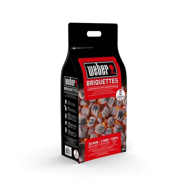 Sac de Briquettes de charbon Weber (8 kg) - Cholet (49)