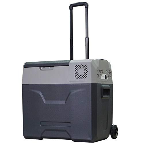 Glacière-congélateur portable à compression froid & chaud Homcom - 50 L, -20°C à 20°C, Prise allume-cigare + Secteur (Vendeur tiers)