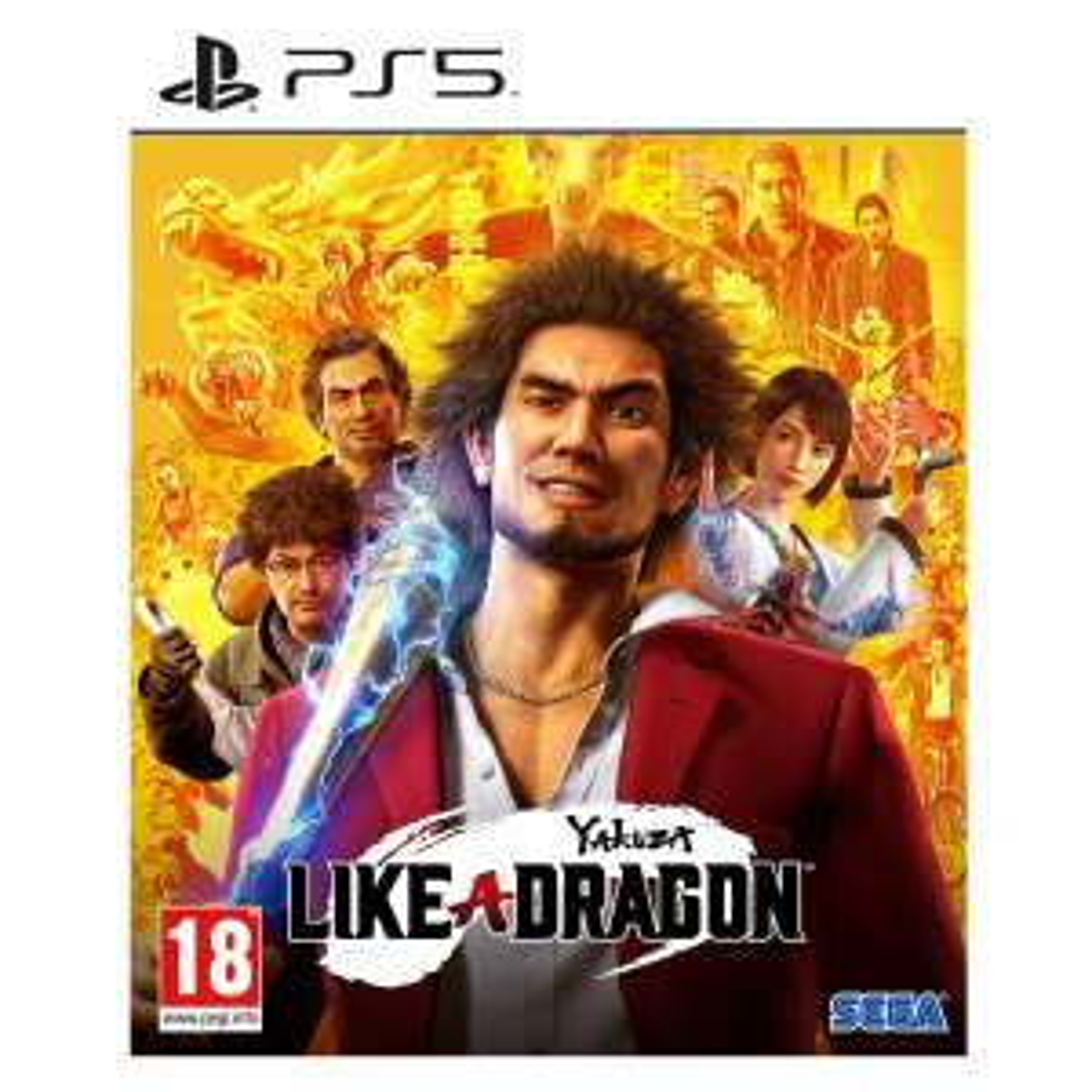 Yakuza : Like a Dragon sur PS5