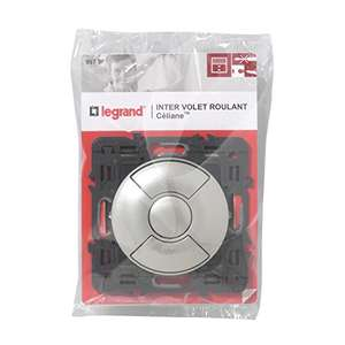 Interrupteur Individuel de Volets Roulants Legrand Céliane 099790