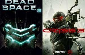 Dead Space 2 ou Crysis 3 à 2,12€ sur PC (Dématérialisé - Origin)
