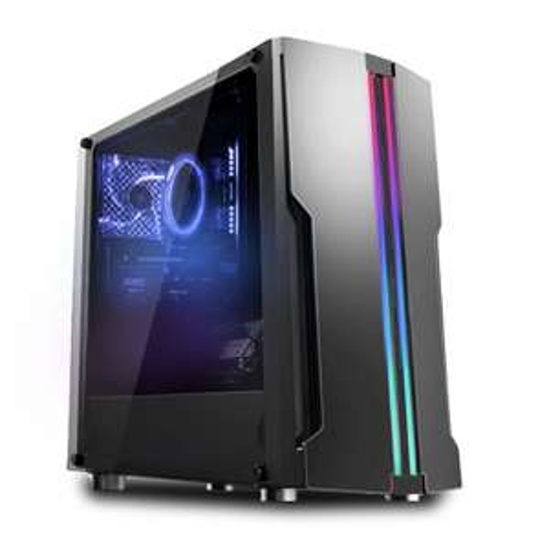 PC gaming Agando Fuego 3637r5 RGB - Ryzen 5 3600, 16 Go RAM, 1 To SSD NVMe, RTX 3070 Ti, Windows 10