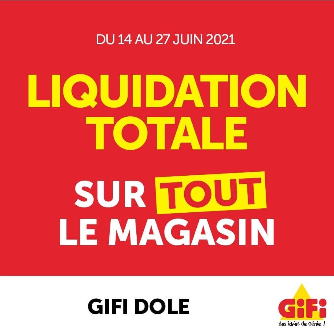 Liquidation totale sur tout le magasin - Dole (39)