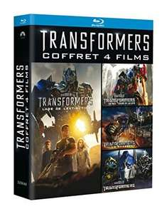 Coffret Blu-ray (quadrilogie) Transformers