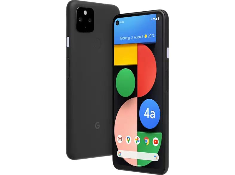 "Smartphone 6.2"" Google Pixel 4A 5G - 128 Go, Simplement Noir (Frontaliers Allemagne)"