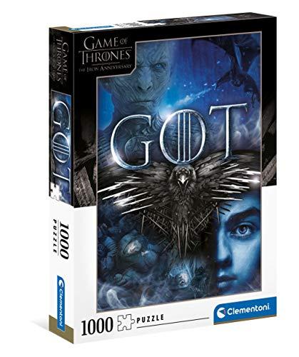 Puzzle Clementoni Game of Thrones - 1000 pièces