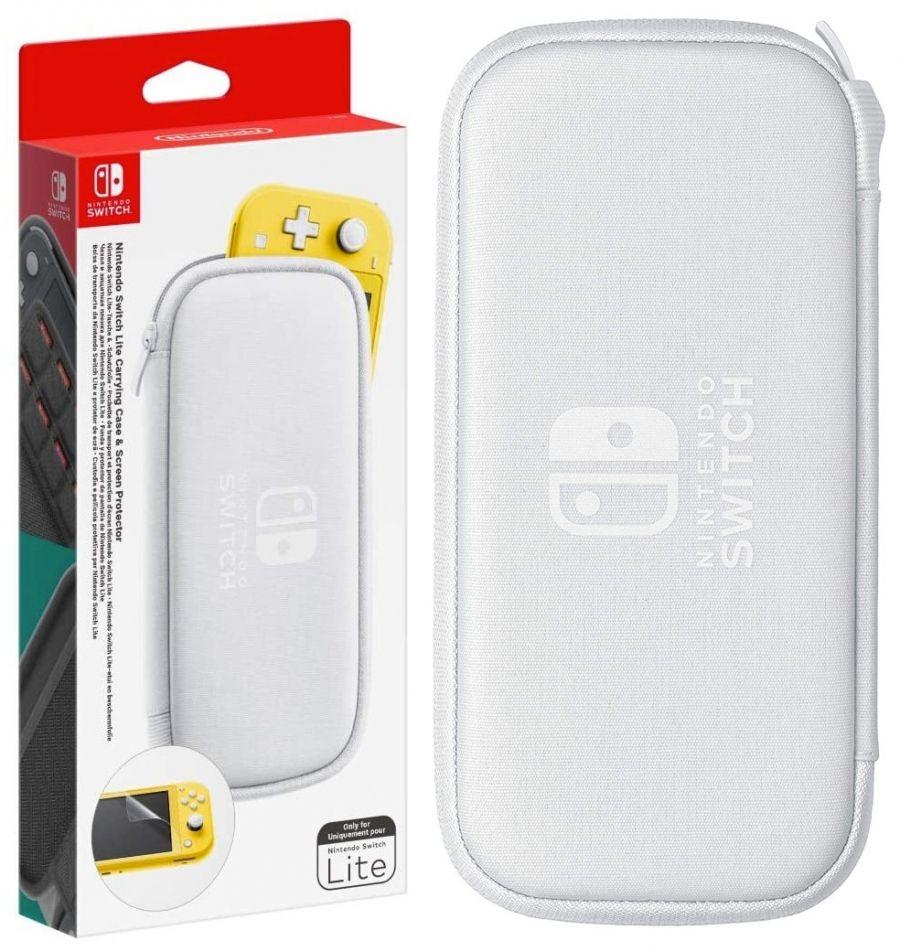 Pochette de transport + protection d'écran Nintendo Switch Lite