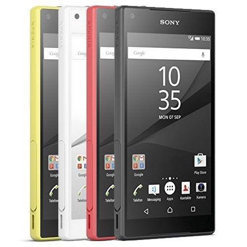 "Smartphone 4.6"" Sony Xperia Z5 Compact - 4G, 32 Go, plusieurs coloris"