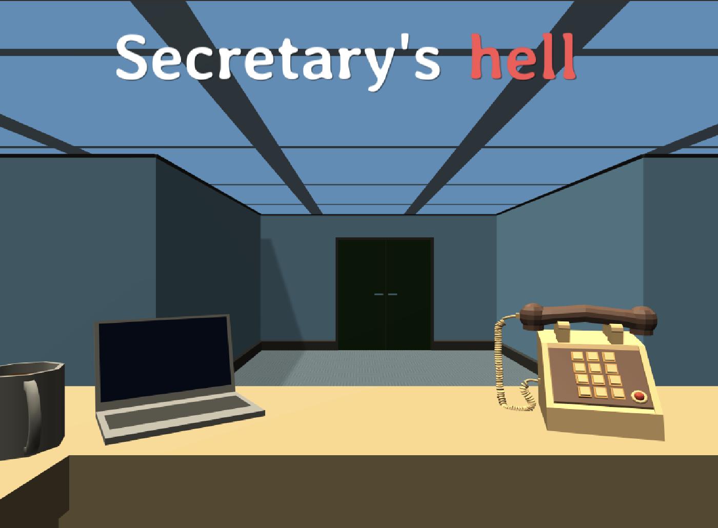 Jeu Secretary's Hell gratuit sur PC & Mac (Dématérialisé - DRM-Free)