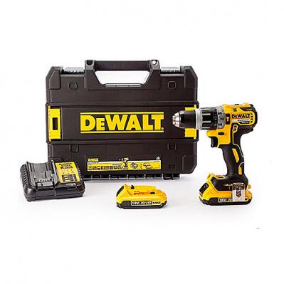 Perceuse/visseuse DeWalt DCD796D2 (18V Brushless) + 2 Batteries 2Ah + Chargeur + Mallette de transport (170.99€ via BP10)
