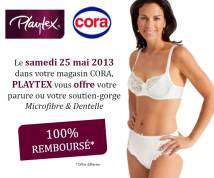 Le 25/05 : Parure (soutient gorge + culotte) Playtex 100% remboursée (Valeur : 26.99€)