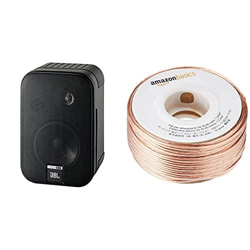Paire d'enceintes JBL Control One - 200W + Câble audio AmazonBasics