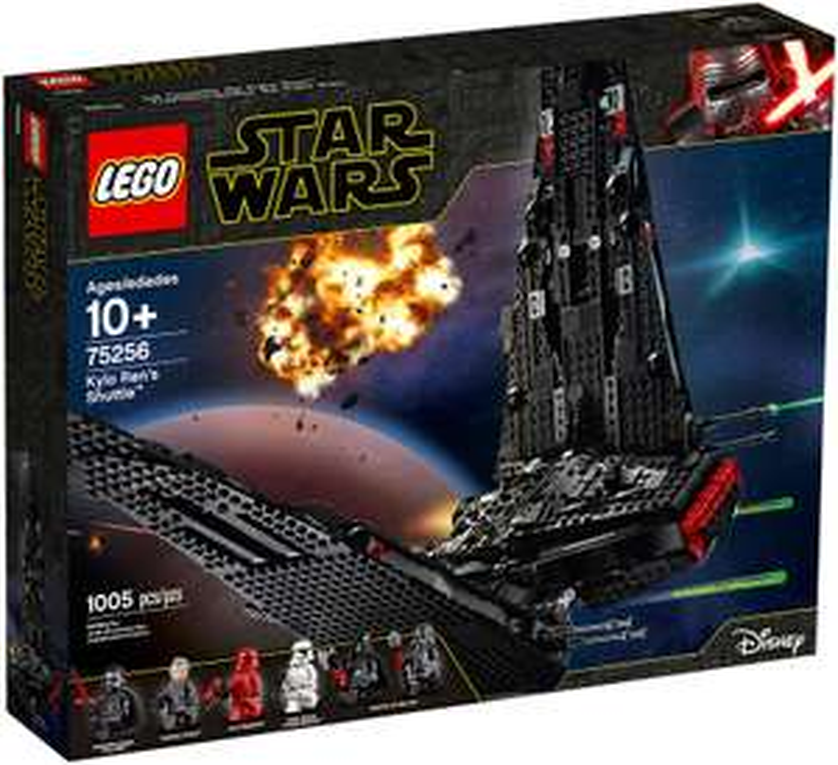Jeu de construction Lego Star Wars 75256 - La navette de Kylo Ren