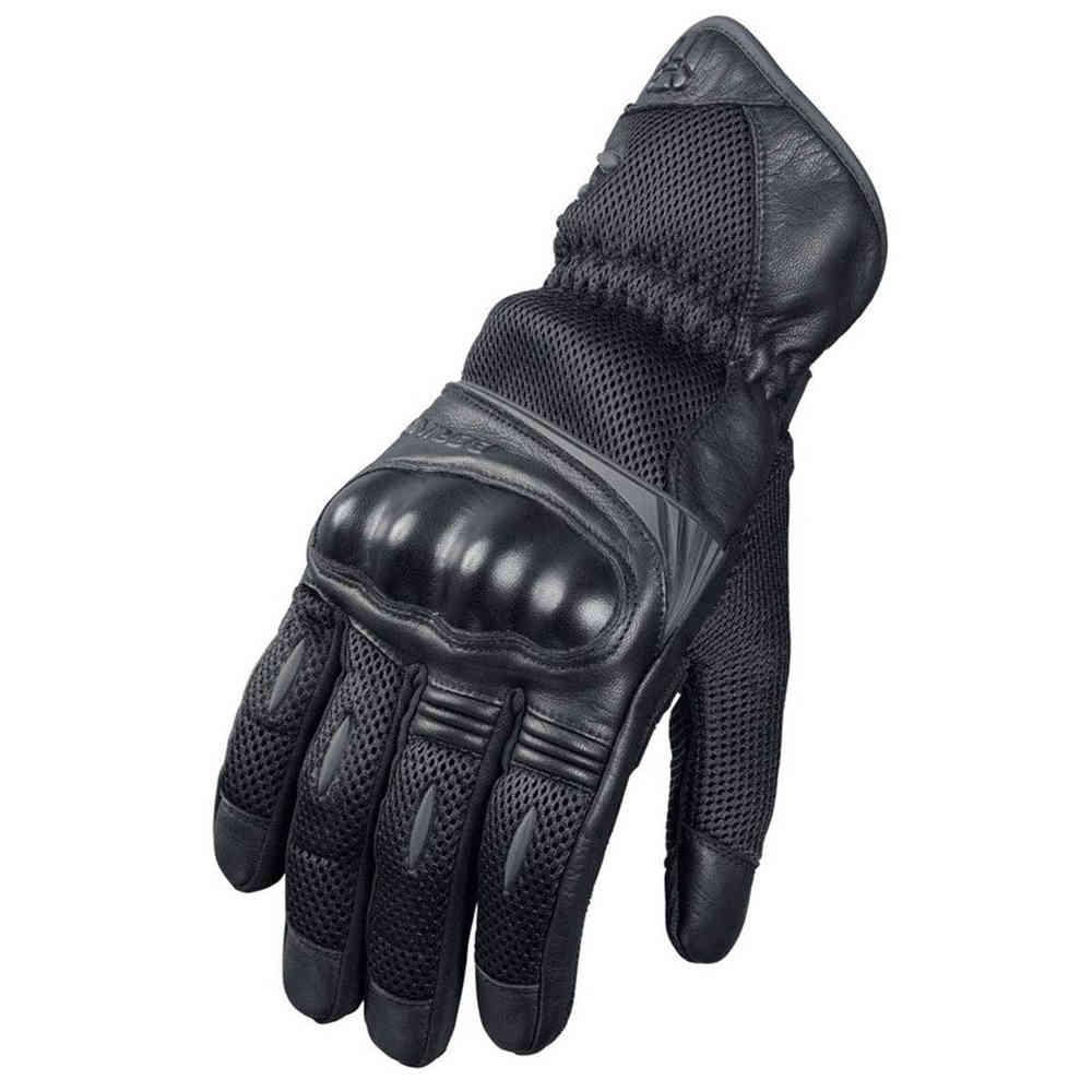 Gants de moto été en cuir / Mesh Bering TX09 - Ventilé (taille au choix)
