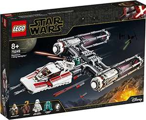 Jeu de Construction Lego Star Wars 75249 - Y‑Wing Starfighter de la Résistance