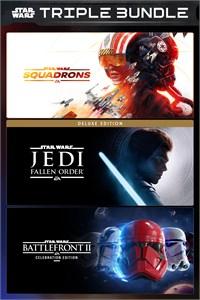 Bundle Star Wars: Squadrons + Jedi: Fallen Order Deluxe + Battlefront II: Celebration sur Xbox One (Dématérialisé - Store BR)
