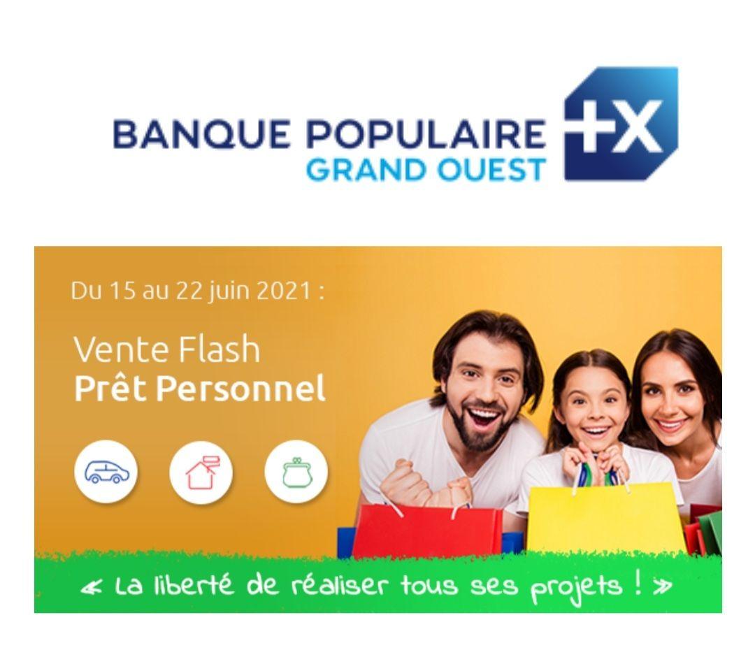 Prêt personnel à 0.99% TAEG fixe de 12 à 24 mois à partir de 10000€ - banquepopulaire.fr