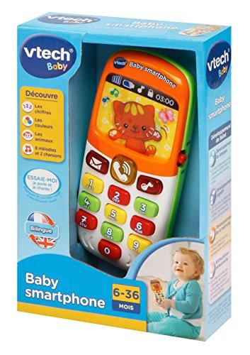 Jouet d'éveil bébé mixte VTech Baby Smartphone Bilingue