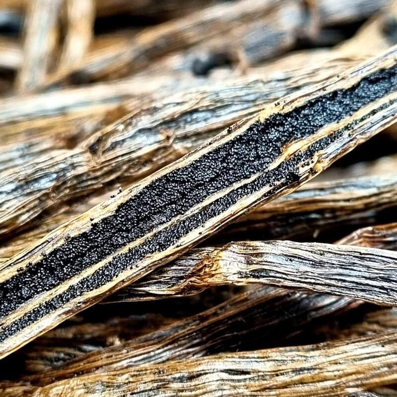 Lot de 15 gousses de vanille bourbon rouge Médaille d'Or (14 cm, origine Madagascar, frais de port inclus) - DavidVanille.com