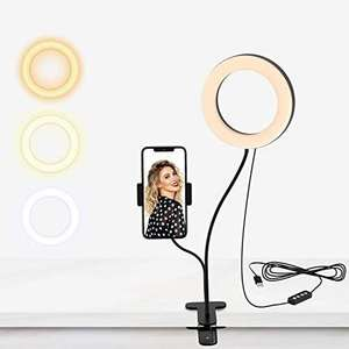 Lumière anneau LED Selvim - 3 Mode d'Eclairage 10 Niveaux de Luminosité (vendeur tiers)