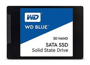 """Disque SSD Interne 2.5"""" WD Blue (3D NAND) - 1 To (WDS100T2B0A)"""