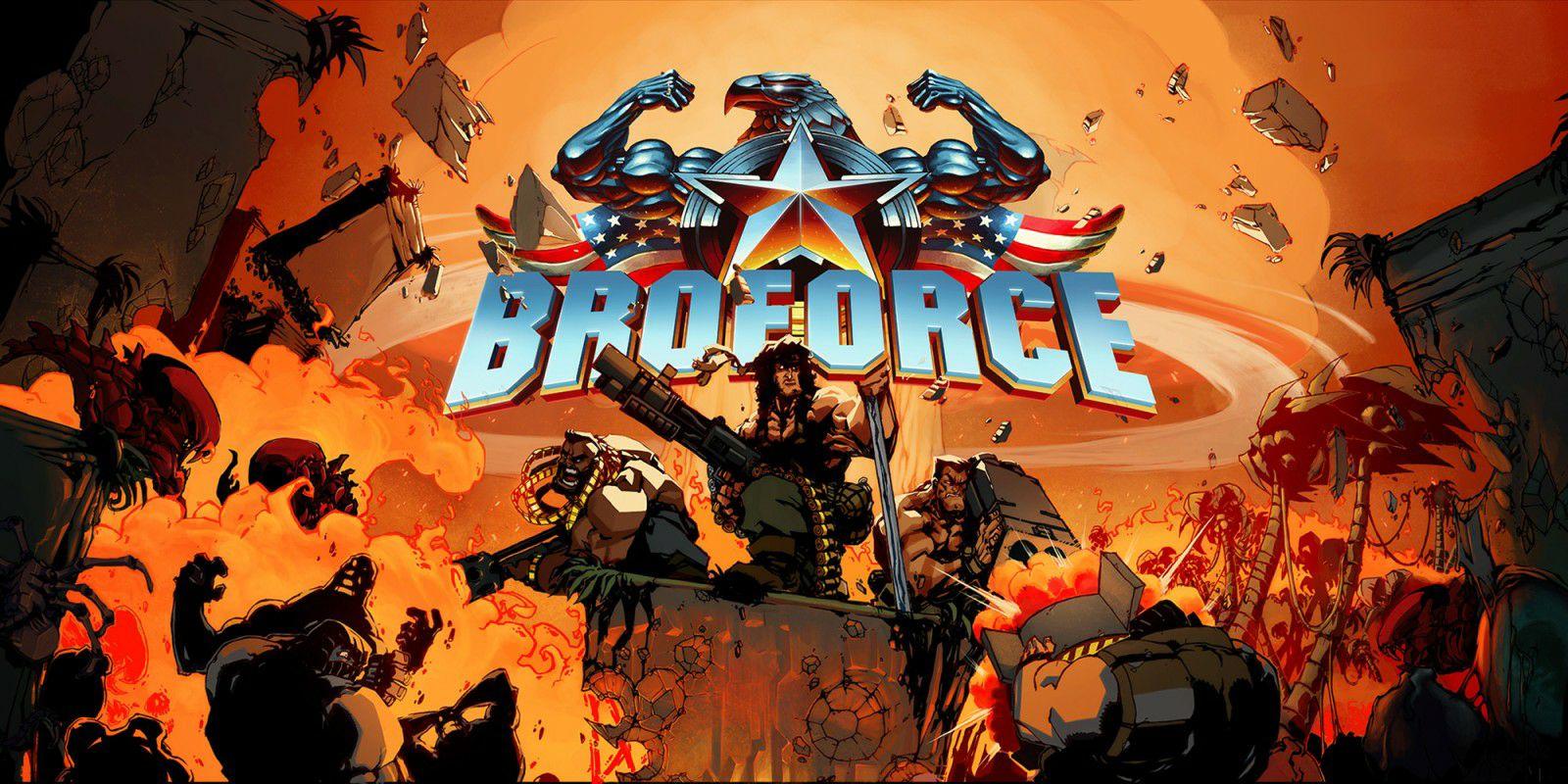 Broforce sur Nintendo Switch (Dématérialisé - eShop Russie)