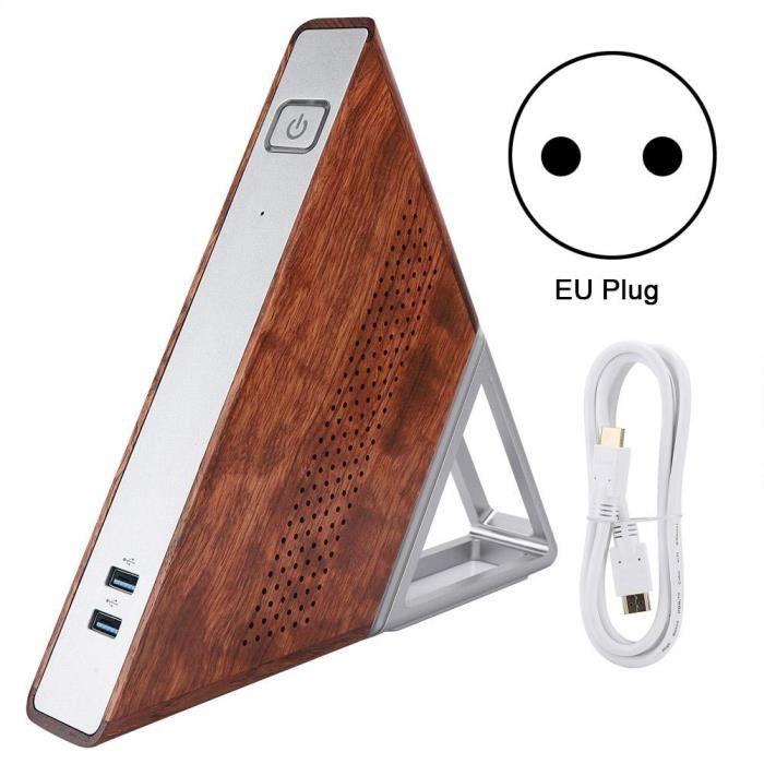 Mini PC Acute Angle AA - Appolo N3450, RAM 8Go, eMMC 64Go, SSD 128Go, Gigabit, 3 USB 3.0 (Plug UK ou US - Vendeur Tiers)