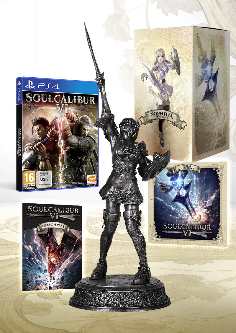 SoulCalibur VI - Limited Silver Collector Edition sur PS4