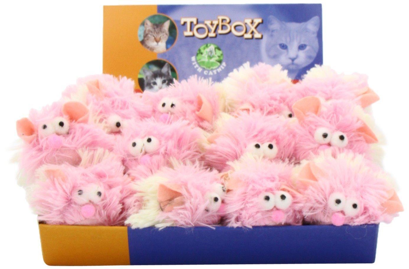 [Panier Plus] Lot de 24 peluches Nobby ToyBox (en laine)