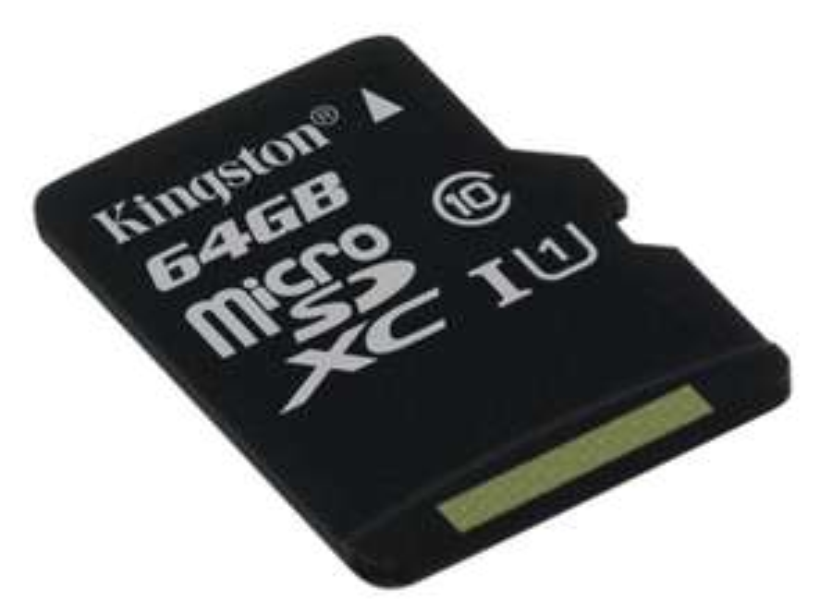 Carte microSDXC Kingston Classe 10 - 64 Go