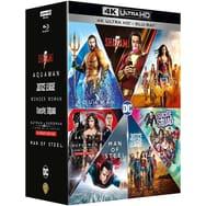 Sélection de coffrets Blu-ray en promotion - Ex: Coffret Blu-Ray 4K : DC Extended Universe Collection - 7 films (via 90,99€ sur la carte)