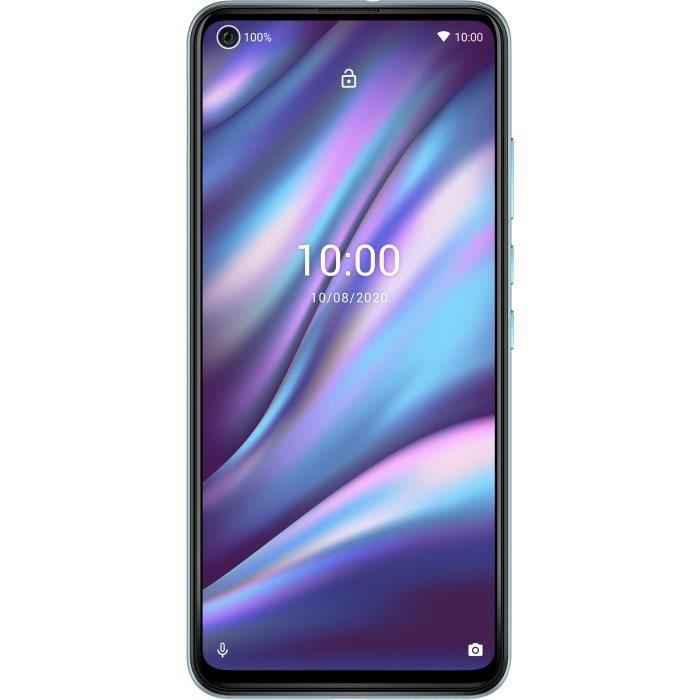 """Smartphone 6.55"""" WIKO View 5 Plus 4G - 128 Go, 4 Go RAM, 5000 mAh, Android 10 (Via ODR 40€)"""