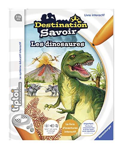 Livre interactif Ravensburger tiptoi Destination Savoir - Les dinosaures