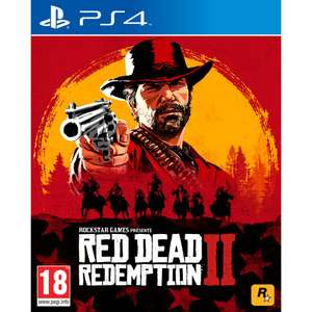 Jeu Red Dead Redemption 2 sur PS4 / Xbox One (compatible PS5 / Xbox Series)