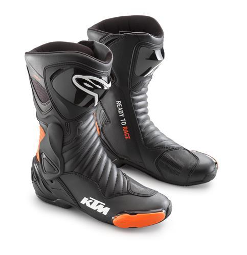 Bottes de moto KTM PowerWear AlpineStars S-MX6 V2 21 - noir (du 39 au 47) - MegaServiceShop.com