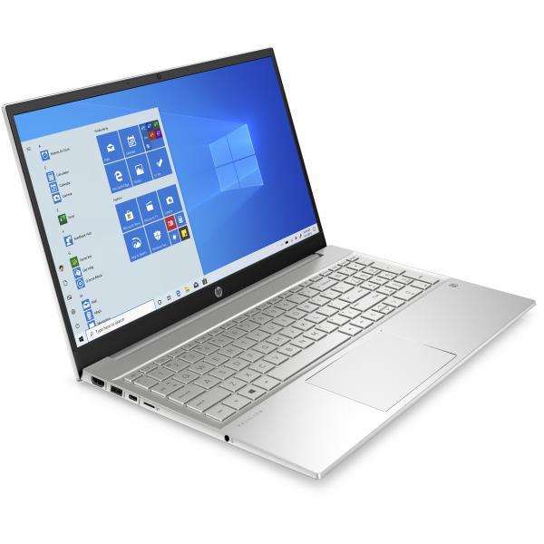 """PC portable 15.6"""" full HD HP Pavilion 15-eh0006nf - IPS - Ryzen 5 4500U, 8 Go de RAM, 256 Go en SSD, Windows 10"""