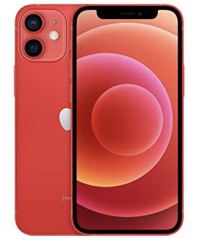 "Smartphone 5.4"" Apple iPhone 12 Mini - 128 Go, Rouge"