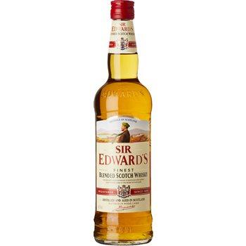 Whisky Sir Edward's 40% vol - 70 cl (via 4.02€ sur la carte fidélité)