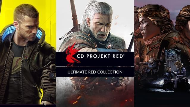 Collection Ultime Red: Cyberpunk 2077 + Witcher 1, 2 et 3 GOTY + ThroneBreaker sur PC (Dématérialisé, DRM-Free, store Russie via VPN)