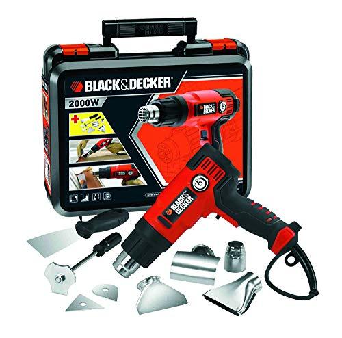 Coffret décapeur thermique filaire Black & Decker KX2200K - 2000 W