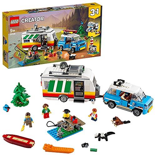 Jouet Lego Creator 3-in-1 - Les vacances en caravane en famille (31108)