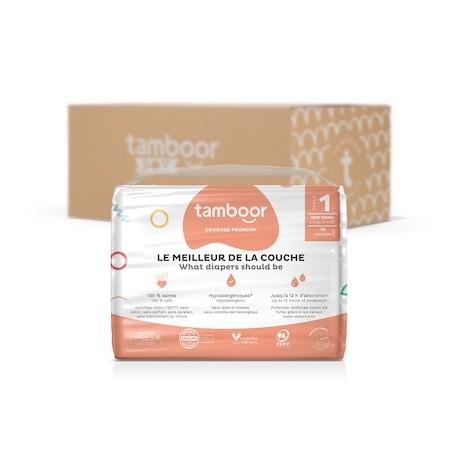 Paquet de couches bébé Tamboor - environ 200 couches, tailles 2 à 4 (Sans engagement) - tamboor.com