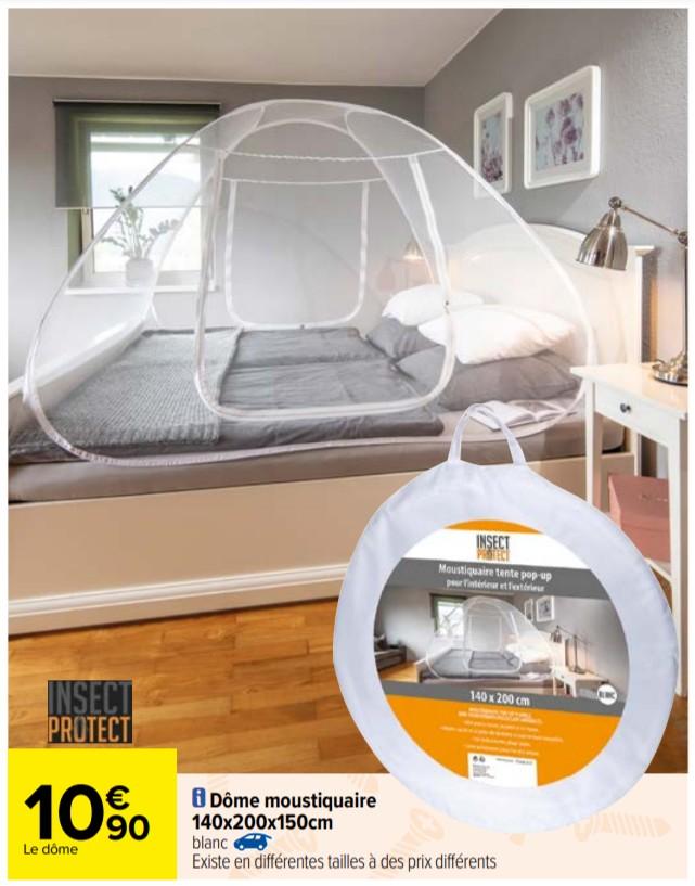Dôme moustiquaire Insect Protect (140x200x150cm)