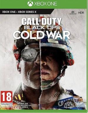 Call Of Duty : Black Ops Cold War sur Xbox One (Via 30€ en Fidéliité)