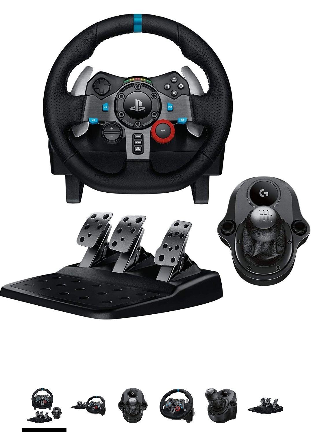 Volant Logitech G29 Driving Force + Pédalier + shifter